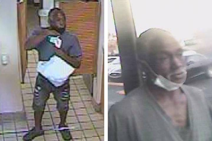 Police are seeking a man in connection to a robbery Friday, Sept. 18, 2020, on the 2000 block o ...