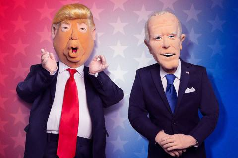"""A promotional photo of the puppets in the skit show """"Let's Be Real,"""" which airs 9 p.m. Thursday ..."""