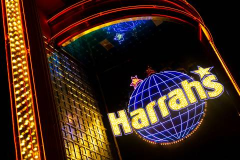 Harrah's Reno in downtown Reno. (Chase Stevens/Las Vegas Review-Journal) @csstevensphoto