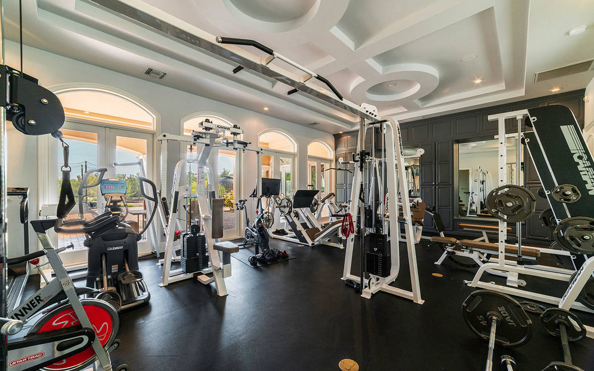 The gym. (Luxurious Real Estate)