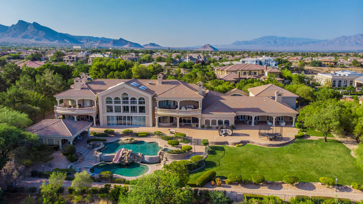 Basketball player DeMarcus Cousins purchased his Queensridge megamansion in 2017. (Luxurious Re ...