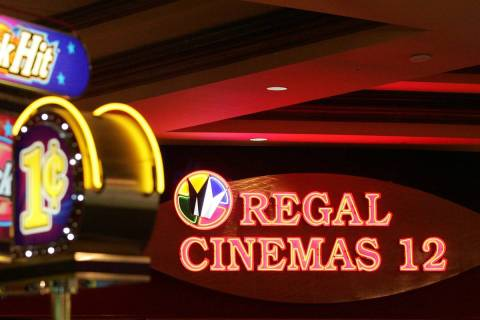 The Regal Fiesta Henderson Stadium 12. (Las Vegas Review-Journal)