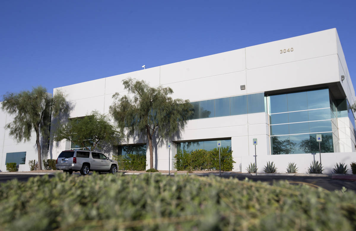 Spacecraft Components Corp. on Tuesday, Oct. 6, 2020, in Las Vegas. State data noted the busine ...