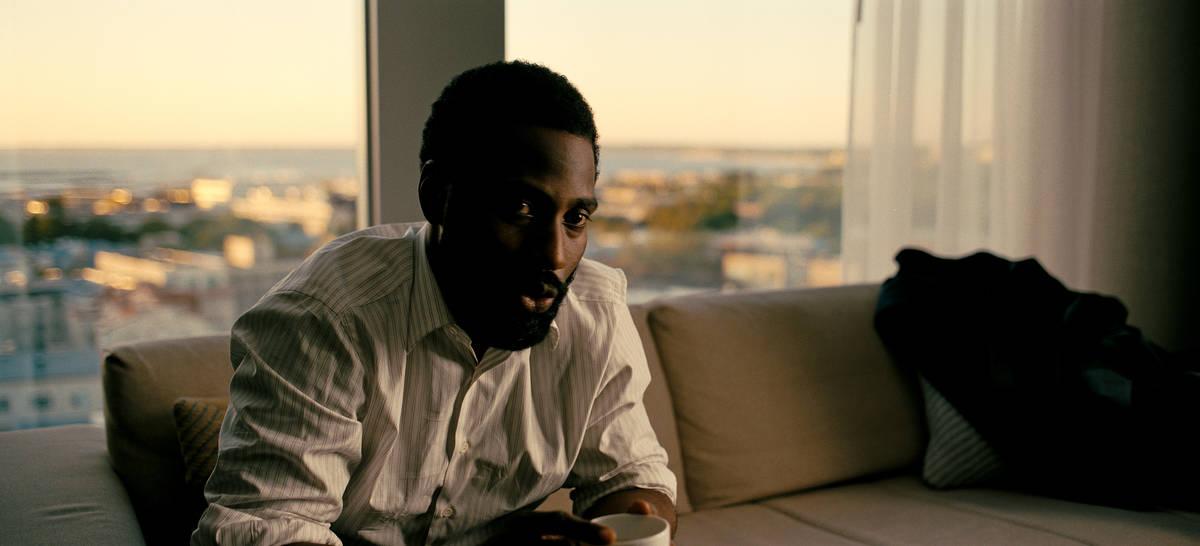 """John David Washington stars in """"Tenet."""" (Warner Bros. Pictures)"""