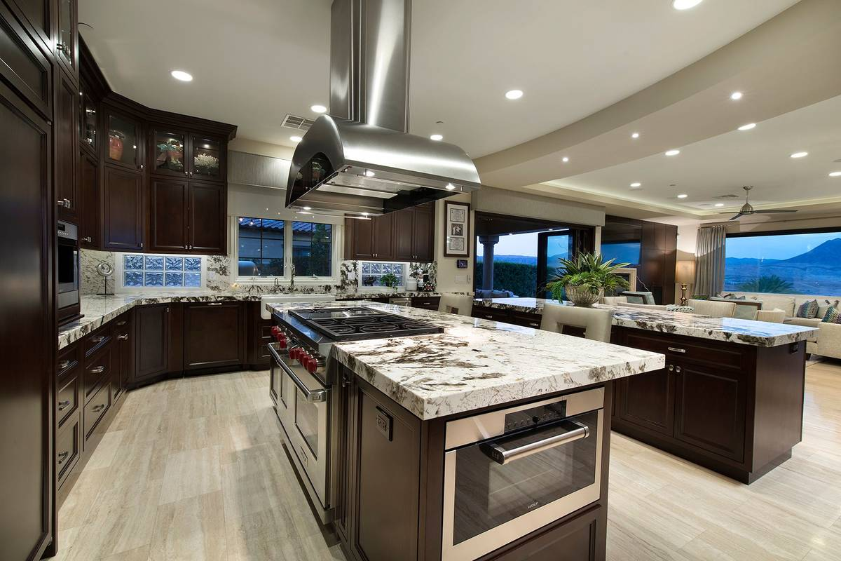 The kitchen has upgraded appliances. (Synergy Sotheby's International Realty)