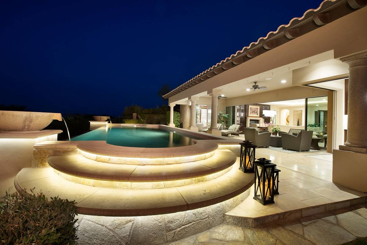 The home has a spa. (Synergy Sotheby's International Realty)