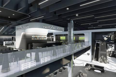 A rendering of the Aristocrat Club at Allegiant Stadium (Courtesy)