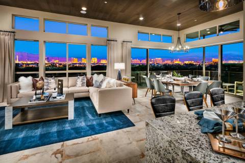 This weekend, Trilogy in Summerlin will open its new phase of homesites, starting work on the s ...