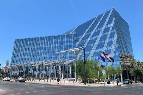 Las Vegas City Hall (Review-Journal file photo)