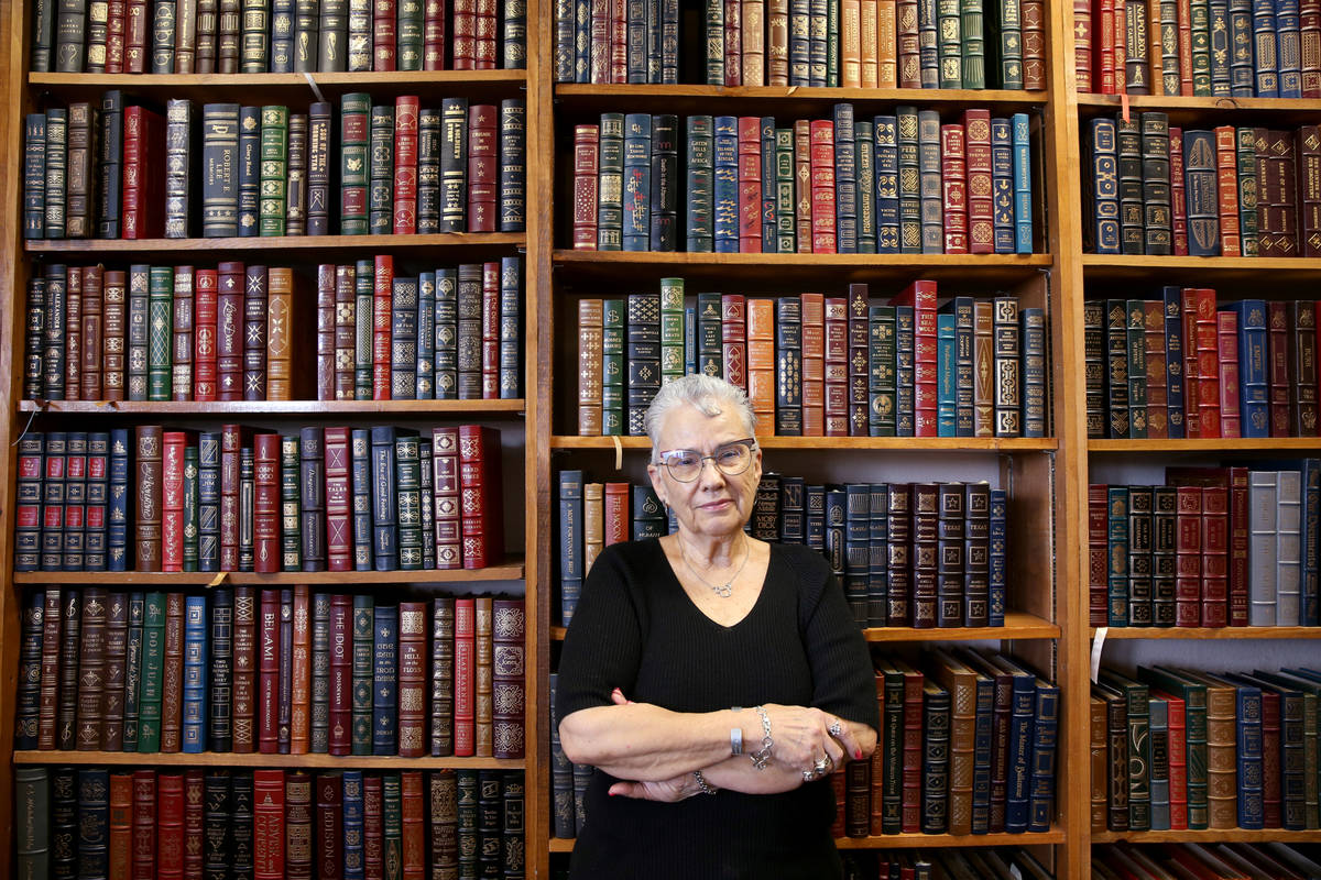 Myrna Donato, owner of Amber Unicorn Books, plans a going-out-of-business sale starting Oct. 21 ...