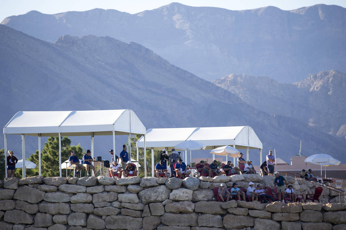 Few spectators were allowed due to coronavirus during the final round of the 2020 Shriners Hosp ...
