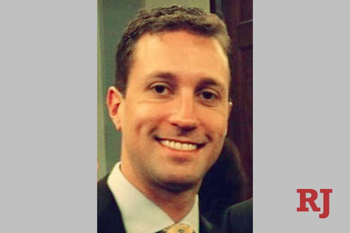 Ex-GOP consultant Benjamin Sparks (Photo obtained by Las Vegas Review-Journal)