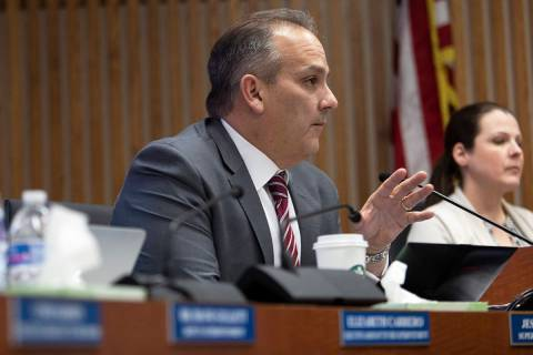 Clark County School District Superintendent Jesus Jara (Ellen Schmidt/Las Vegas Review-Journal ...