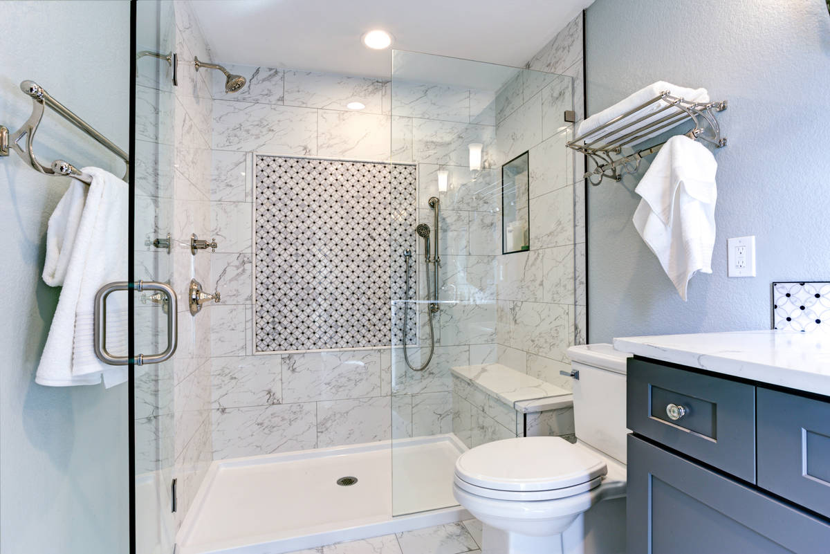 One of the biggest trends in master bathroom remodels is to eliminate the tub and then turn the ...