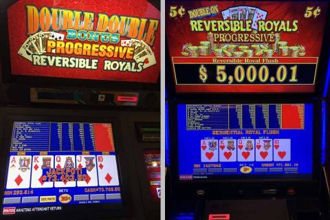 A pair of lucky guests hit royal flushes Thursday for more than $70,000 at Green Valley Ranch. ...
