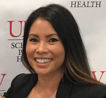 UNLV doctoral student Jacklynn De Leon is one of three student leaders for the contact tracing ...