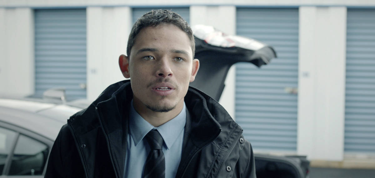 "This image released by Open Road Films shows Anthony Ramos in a scene from ""Honest Thief.& ..."