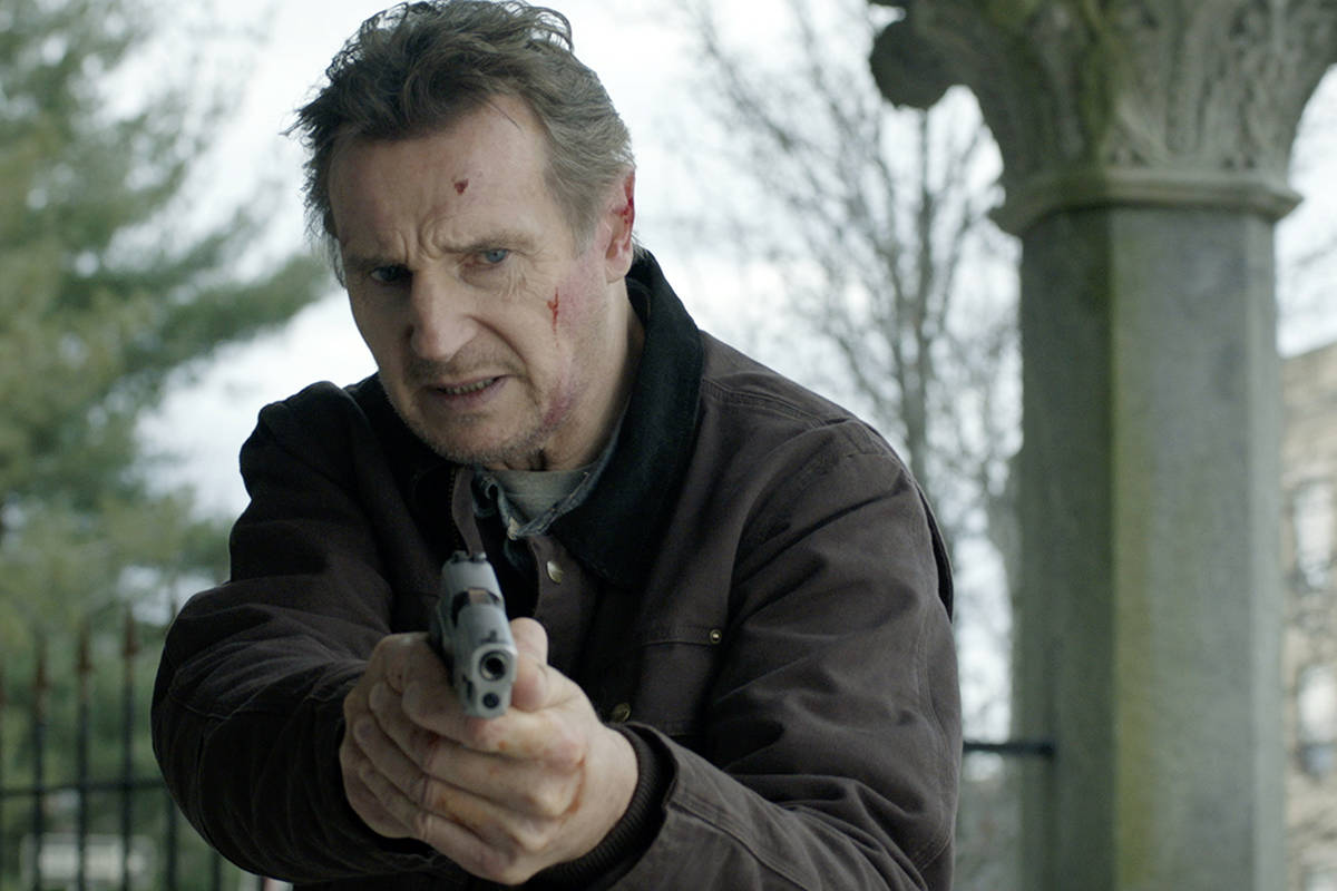 "This image released by Open Road Films shows Liam Neeson in a scene from ""Honest Thief.&qu ..."