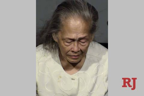 Josefina Coughlin, 86, of Las Vegas was arrested and booked into the Clark County Detention Cen ...