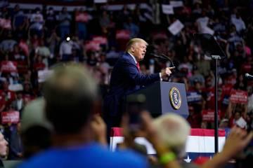 President Donald Trump (Associated Press)