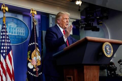 President Donald Trump. (AP Photo/Evan Vucci)
