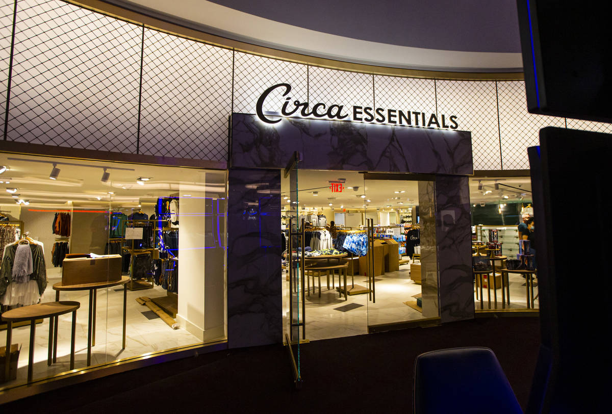Circa Essentials is seen on the second floor during a tour of Circa, the first from-the-ground- ...