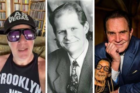 "Andrew ""Dice"" Clay, from left, Bob Zany and Rich Little will be among the comics scheduled to a ..."
