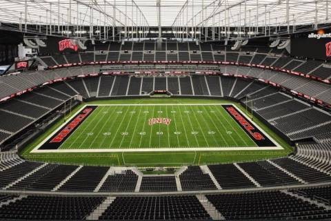 UNLV still awaiting decision on if a limited number of fans will be allowed to attend football ...