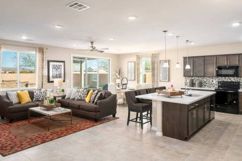 Beazer Homes will showcase its growing collection of new single- and two-story homes at its Bur ...