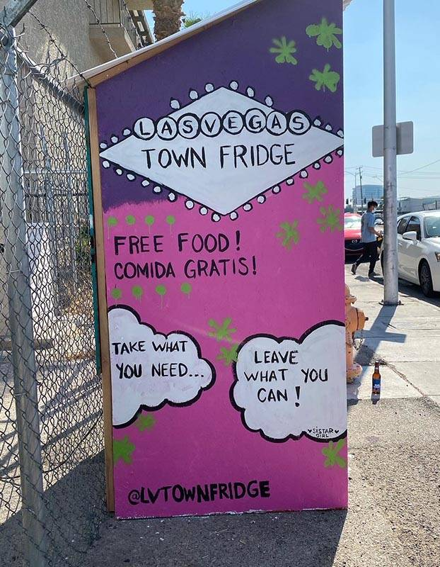 The Town Fridge is located just north of downtown at 1010 N. Main St./United Movement Organized ...