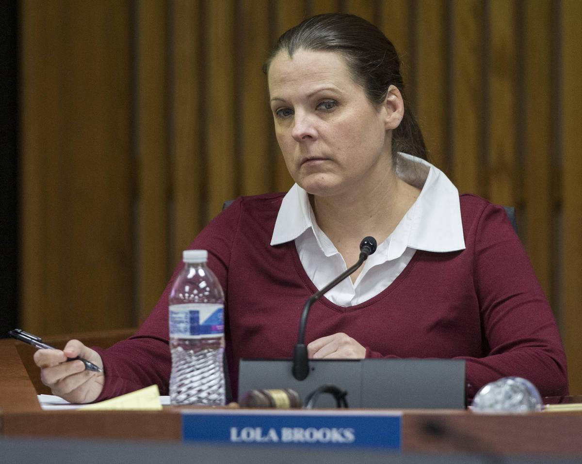 District E Board of School Trustee Lola Brooks (Benjamin Hager/Las Vegas Review-Journal file) @ ...