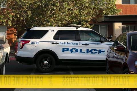 North Las Vegas Police Department. (Bizuayehu Tesfaye/Las Vegas Review-Journal) @bizutesfaye