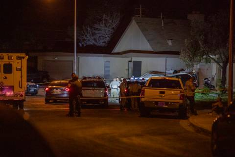 Las Vegas homicide detectives are investigating a stabbing death in the east valley Monday, Oct ...