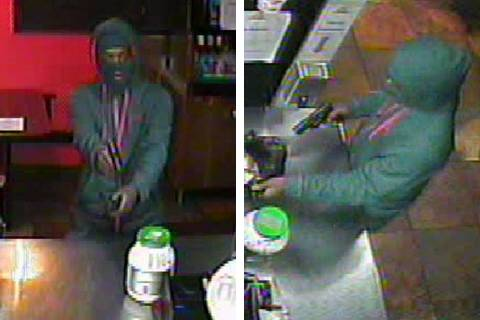 Police are seeking a man in connection to an armed robbery Sunday, Oct. 25, 2020, on the 2600 b ...