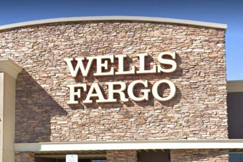 Wells Fargo at 10475 S. Decatur Blvd. in Las Vegas (Google Maps)