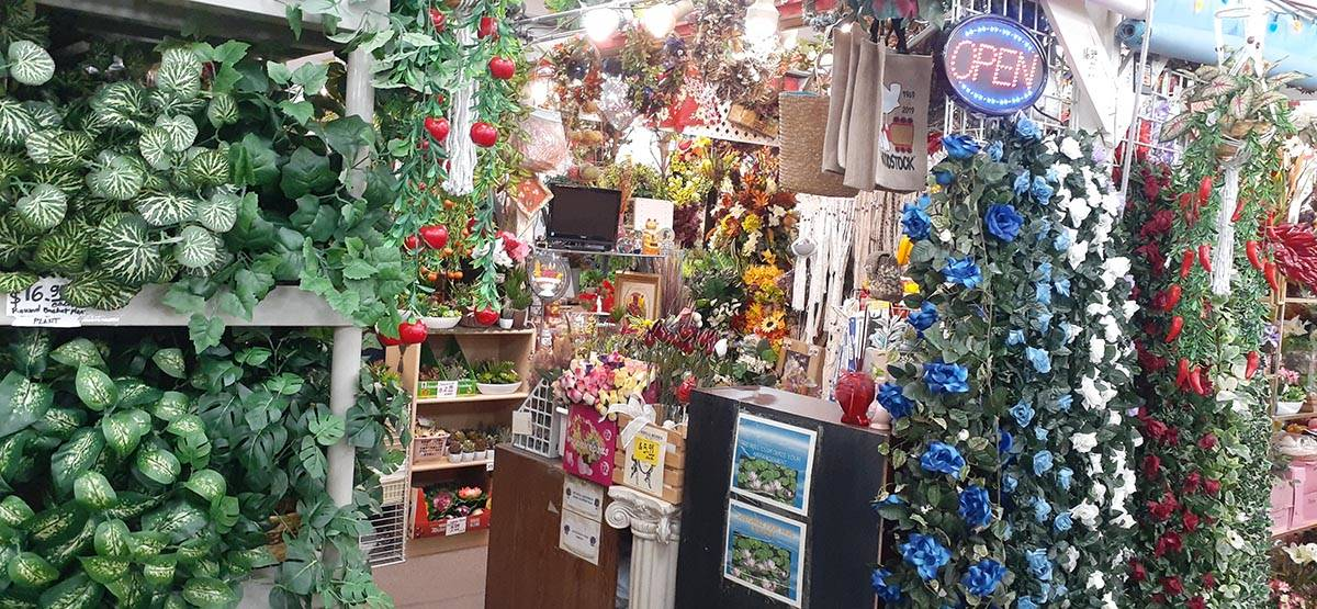 Silk flowers and home decor are among the more popular items shoppers can find at Fantastik. (M ...