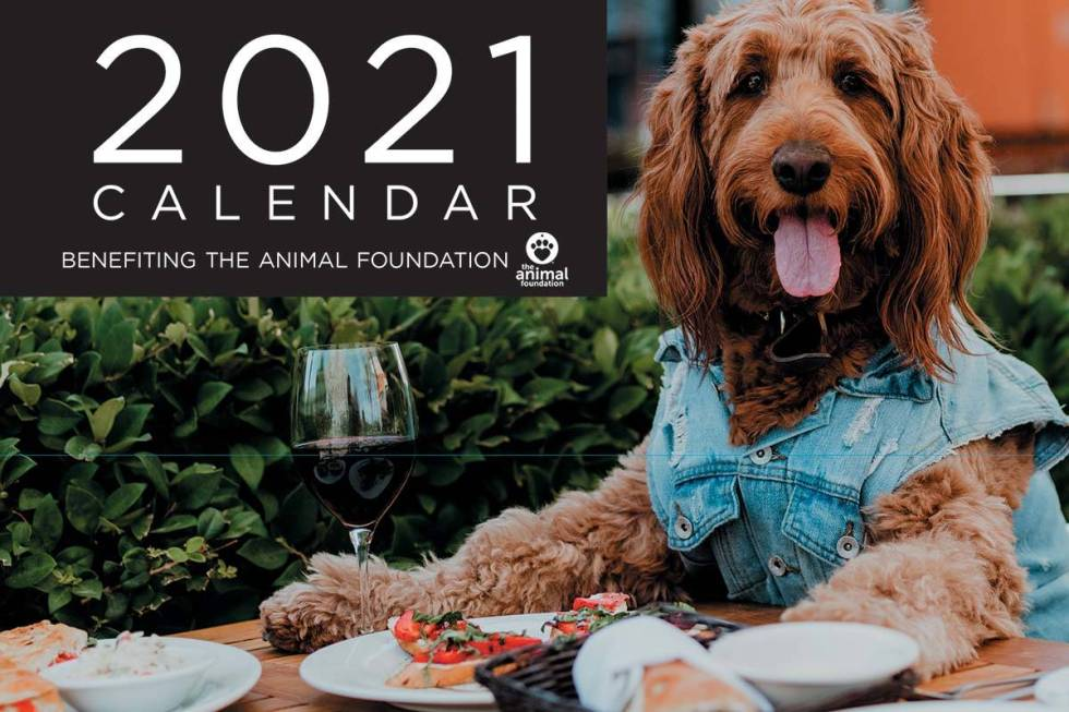 The 2021 Dogs of Downtown Summerlin calendar benefits the An ...