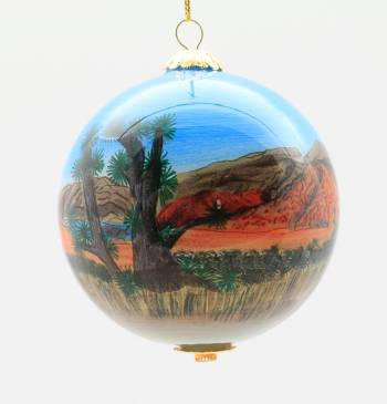 Ornaments feature images of Red Rock Canyon. (Southern Nevada Conservancy)