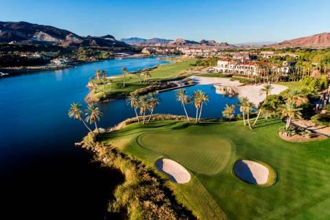 Lake Las Vegas Reflection Bay Golf Course. (Lake Las Vegas)