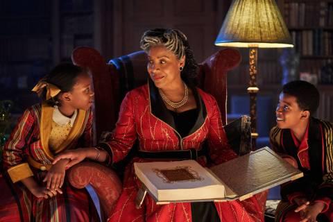 """""""Jingle Jangle: A Christmas Journey"""" stars Phylicia Rashad as Grandmother. (Gareth Gatrell/Netflix)"""