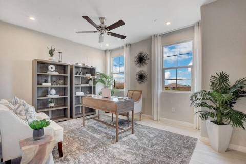 Beazer Homes offers single- and two-story homes at Tierra Vista, a gated Henderson community of ...