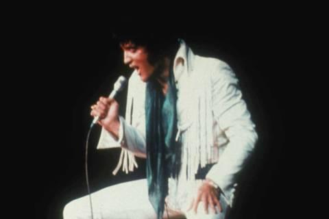 """Elvis Presley in """"Elvis: That's The Way It Is,"""" filmed at the International. (Las Veg ..."""