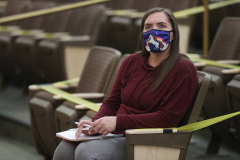 Tasha Baxter attends the fact finding review in the death of her brother David Baxter, who died ...