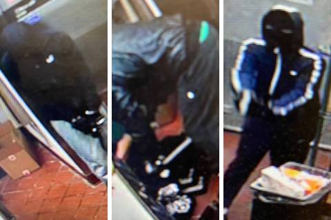 Police are looking for three men in connection to an armed robbery that occurred Friday, Nov. 6 ...