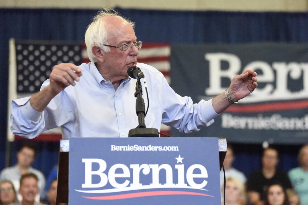 Bernie Sanders. (AP Photo/Meg Kinnard)