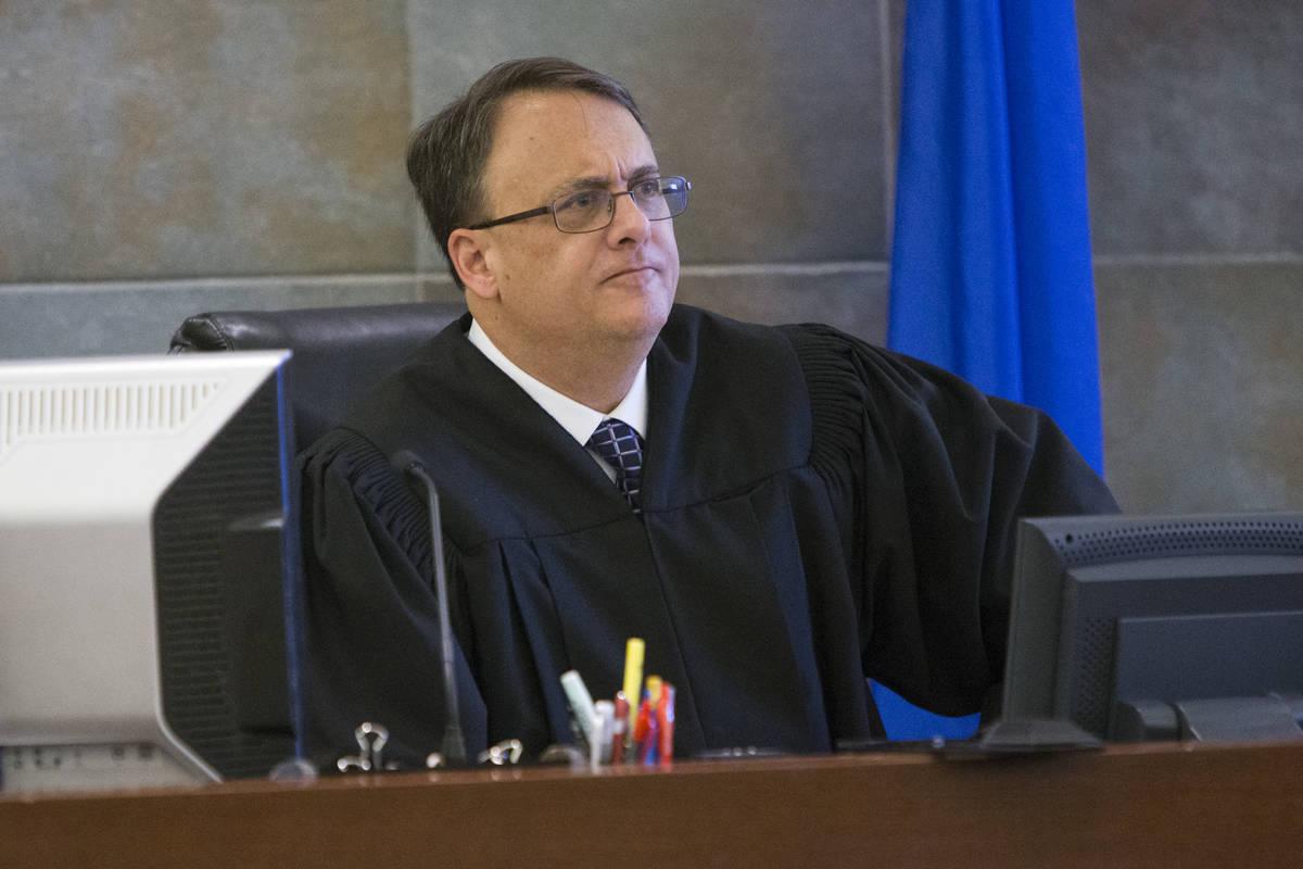 District Judge Richard Scotti, seen in 2017. (Erik Verduzco Las Vegas Review-Journal)