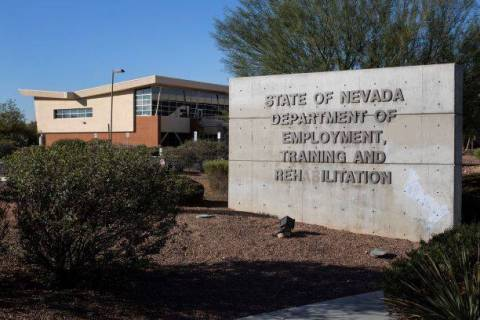 The State of Nevada Department of Employment, Training and Rehabilitation Center is photographe ...