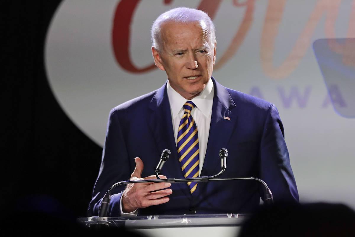 Joe Biden. (AP Photo/Frank Franklin II)