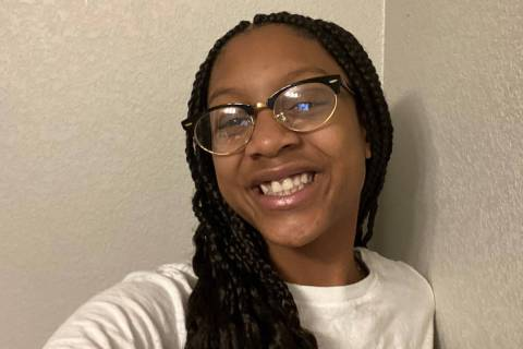 Azaia Allen, 11, reported missing on Tuesday, has been located. (Las Vegas Metropolitan Police ...