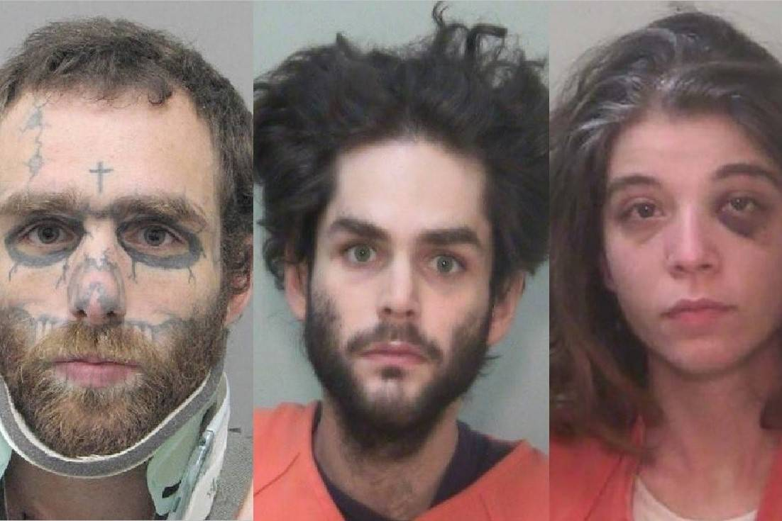 From left: Christopher McDonnell, Shawn McDonnell and Kayleigh Lewis. (Henderson PD and La Paz ...